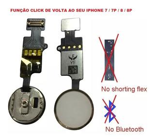 Botão Home Universal iPhone 7/7p/8/8p Sem Bluetooth