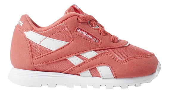 Zapatillas Reebok Moda Cl Nylon Mu Bebe Co/bl