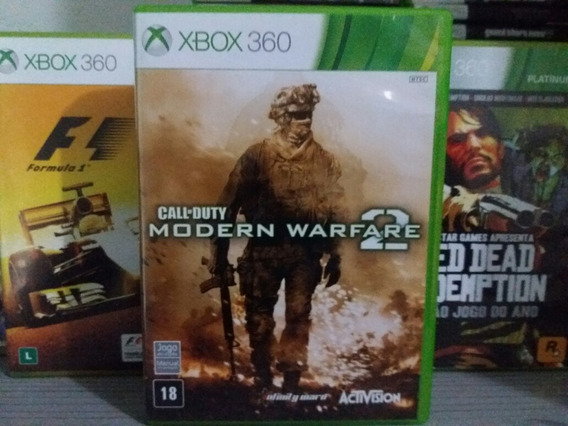 Call Of Duty Modern Warfare 2 Mw2 Xbox 360 Original Mídia