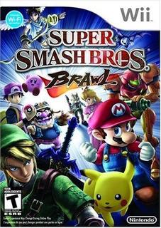Juego Super Smash Bros Brawl Wii Nuevo Original