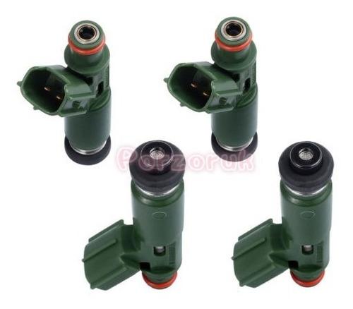 Imagen 1 de 6 de 4x Toyota Inyectores De Combustible Establecen Oem 23250-220