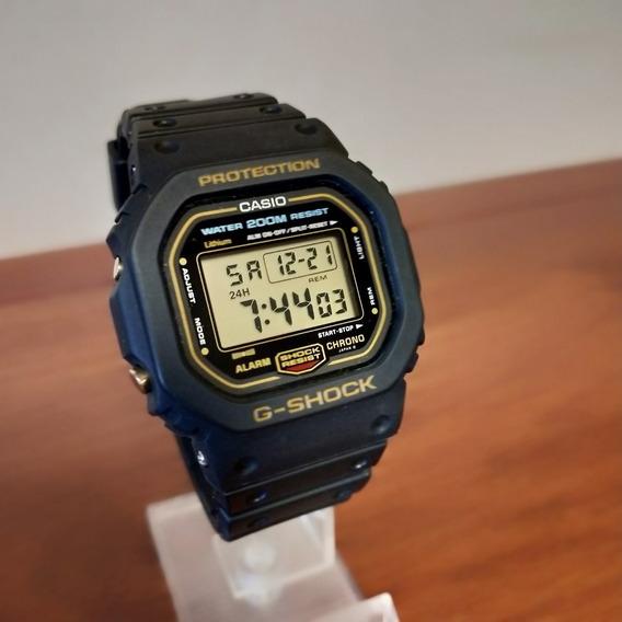 Casio G-shock Dw-5600 *condição Incrível* Fundo De Rosca