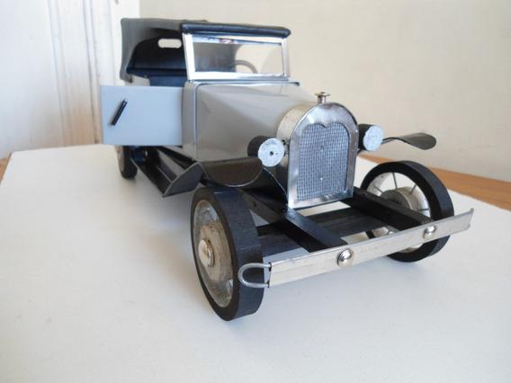 Miniatura Automóvel Ford 1929 Feita A Mão! Clássico! Único!!