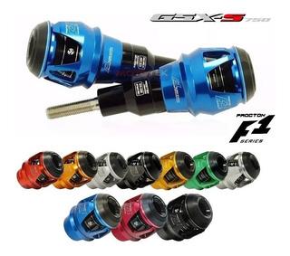 Slider Protetor Motor Procton F1 Suzuki Gsx-s Gsxs 750 S750