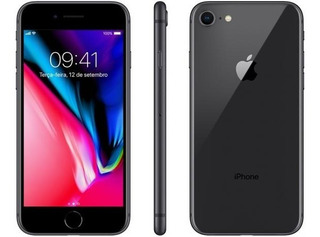 Apple iPhone 8 64 Gb Cinza Espacial + 5 Capas - Original