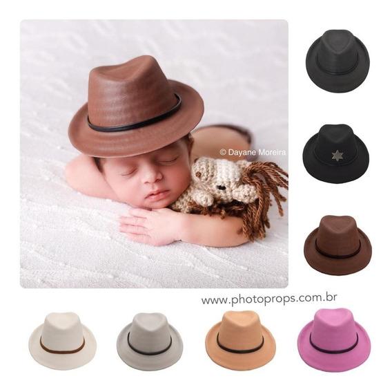 Chapéu Cowboy Panamá Fotografia Newborn Props