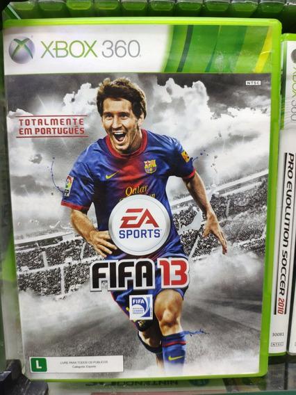 Jogo Fifa 13 Xbox 360, Mídia Física Usado