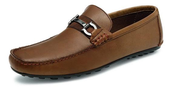 Zapatos Para Caballero Aretina 5157 Café 25-30