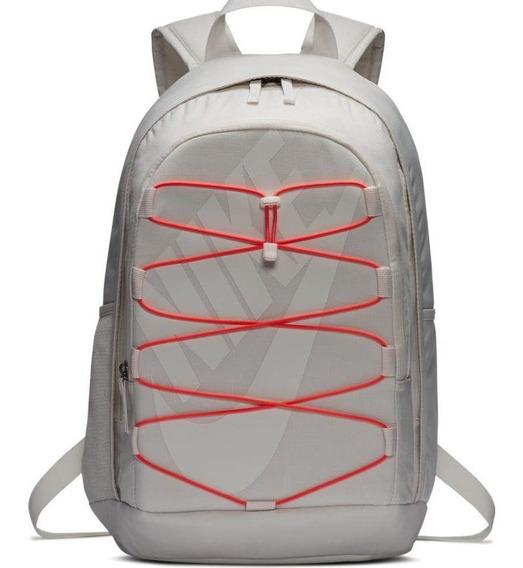 Mochila Nike Hayward Backpack 2.0 Blanco/naranja Ba5883-030