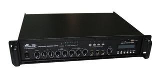 Amplificador Potencia 300w Linea De 70v Y 100v Mp3 Bluetoot