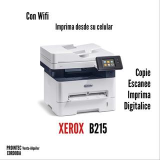 Impresora Laser Xerox Multifuncion B215 Wifi Suc. Cordoba
