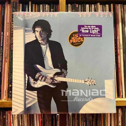 John Mayer Sob Rock Vinilo Negro