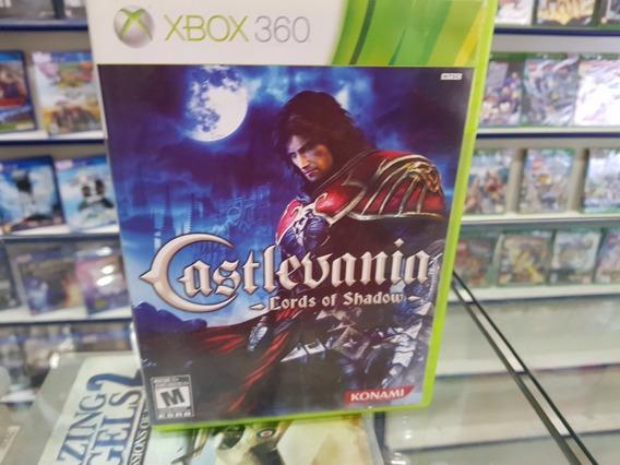 Castlevania Lords Of Shadow Usado Original Xbox. 360