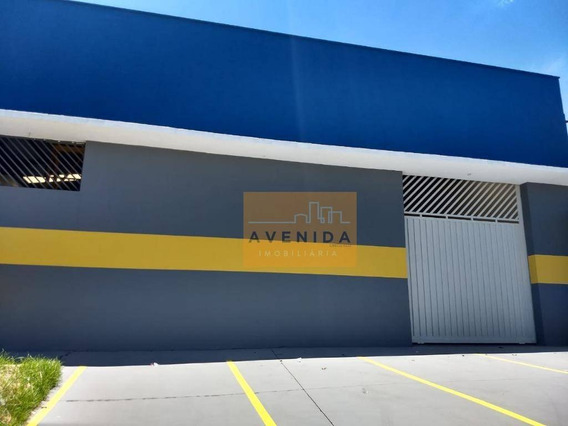 Barracão Comercial Para Locação, Santa Cecília, Paulínia. - Ba0048