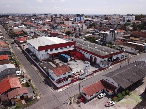 Imagem 1 de 10 de Barracão Para Alugar, 4000 M² Por R$ 46.000,00/mês - Boneca Do Iguaçu - São José Dos Pinhais/pr - Ba0043