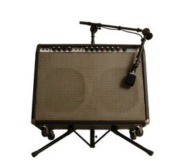 Suporte P/ Cubo Amplificador On Stage Rs7500 C/ Haste P/ Mic