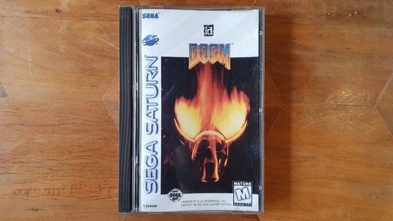 Doom Sega Saturno Original E Completo, Faço Por 400