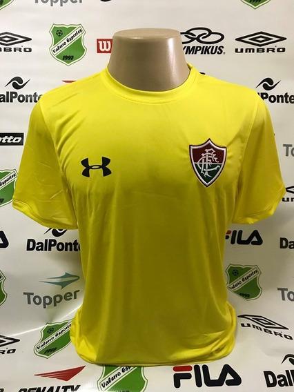 Camisa Oficial Fluminense Goleiro Under Armour Amarela