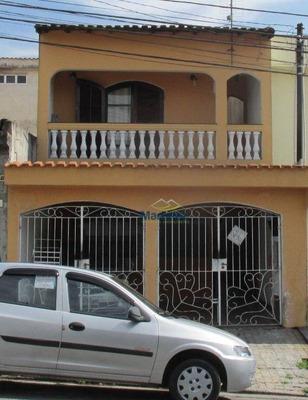 Sobrado Com 3 Dormitórios À Venda, 173 M² Por R$ 530.000 - Jardim Las Vegas - Santo André/sp - So0579