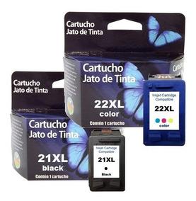 Kit Cartuchos Impressora 21 E 22