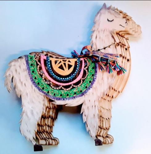 Posa Fuentes Fibrofacil Llama  Laura Craft