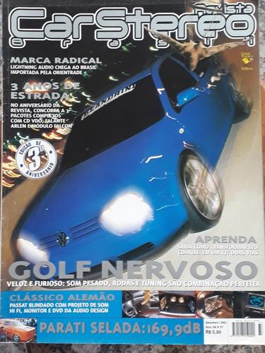 Revista Car Stereo Brasil - N° 37 - Ed 3° Aniversário