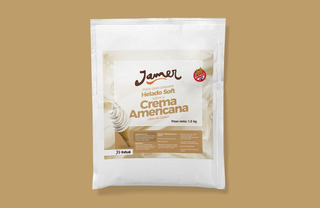 Polvo Helado Soft Americana 1,5 Kg Jamer, Helados Candy