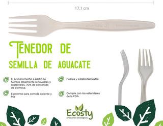 Cubiertos De Semilla De Aguacate Biodegradables Biofase