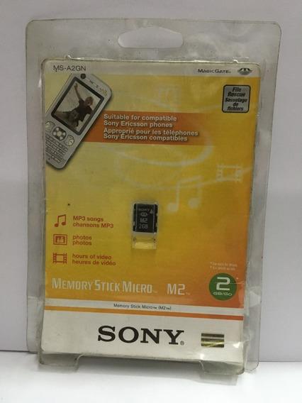 Memory Stick Micro M2 2gb