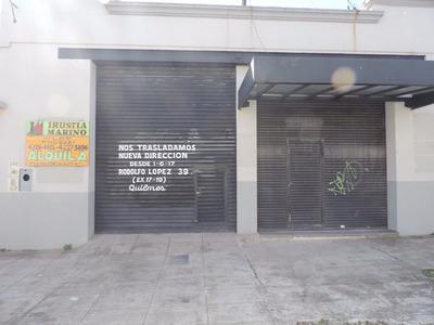 Quilmes, Local En Alquiler 138m2 Mas Subs. Tot. 269m2