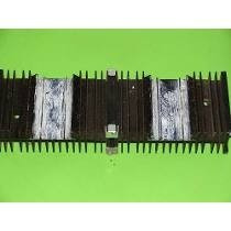 Dissipador Amplificador Model Gradiente 366 Ou 246 Original