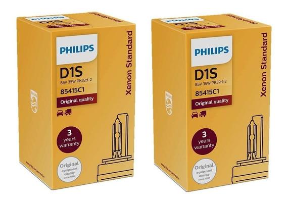 ( 100% Original Leia ) Philips D1s 4200k Xenon Standard