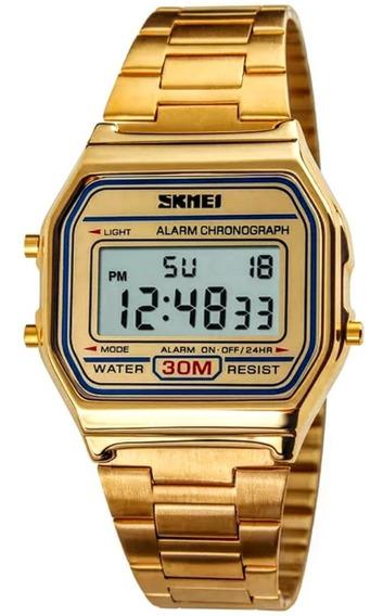 Relógio Skmei Retrô Unissex Femino