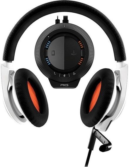 Fone De Ouvido Gamer Rig Plantronics Stereo Headset + Mixer
