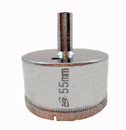 Imagen 1 de 6 de Mecha Diamantada 55mm Vidrio Cerámica Mármol Porcelanato
