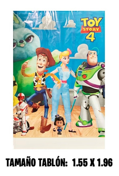 Toy Story 4 Mantel Para Tablon Fiesta Infantil Toy Story 4