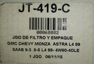 Empaque Y Filtro Para Transmision Automatica Chevy