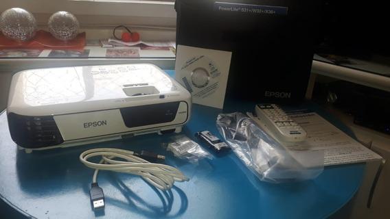 Projetor Epson Powerlite X36+ 3600 Lumens Com Hdmi E Wi-fi