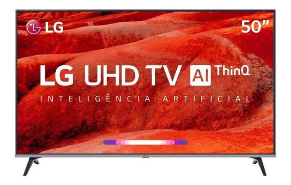 Smart Tv Led 50 Ultra Hd 4k LG 50um 751c 4 Hdmi 2 Usb Wifi