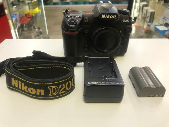 Camera Nikon D200 Corpo