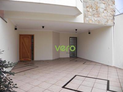 Casa Com 3 Dormitórios Para Alugar, 177 M² Por R$ 2.600/mês - Jardim São Paulo - Americana/sp - Ca0092