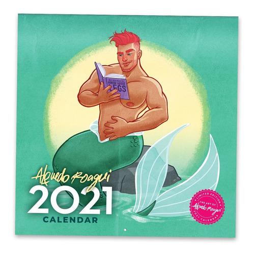 Calendario 2021 Alfredo Roagui De Pared