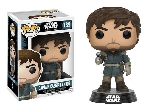 Funko Pop! Captain Cassian Andor 139 Star Wars