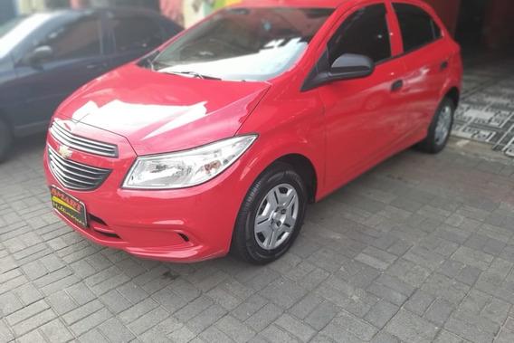 Chevrolet Onix 1.0 Ls 5p 2014/2015 Vermelho
