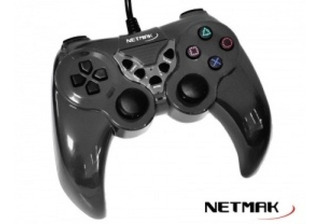 Joystick Pc Ps2 Ps3 Netmak Usb 2.0 - Factura A / B