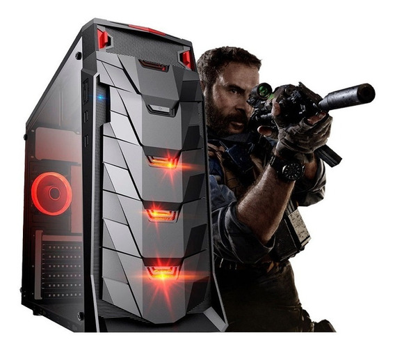 Pc Cpu Gamer /core I5/ 16gb/ Ssd / Rx 570 / 1tb / Led/ Gab