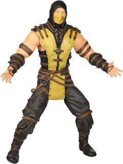 Muñeco Figura De Coleccion Scorpion Mortal Kombat