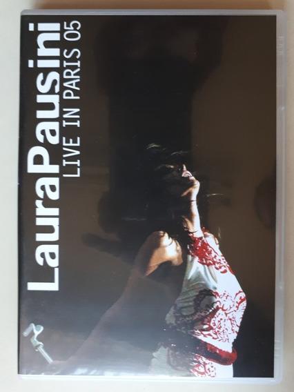 Dvd + Cd - Laura Pausini Live In Paris - Original - Est Novo