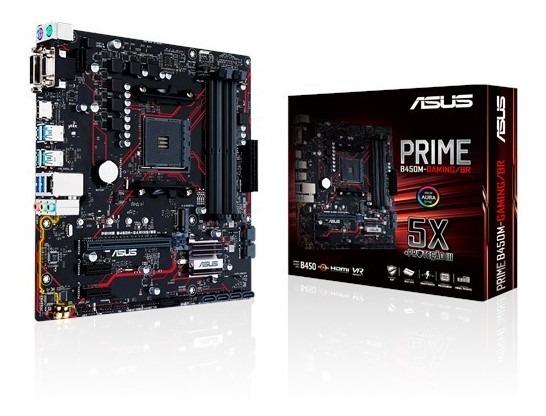 Placa Mãe Asus Prime B450m-gaming/br