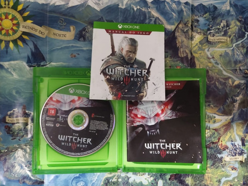 The Witcher Xbox One - Mídia Física Original Seminovo